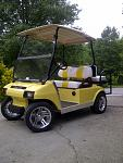Club Car DS 2000.5 makeover