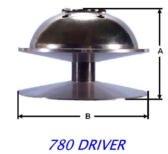 780 drive clutch